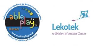 Ableplay and Lekotek logos