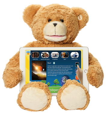 Sammy The Bear - Talking Educational Learning Tool