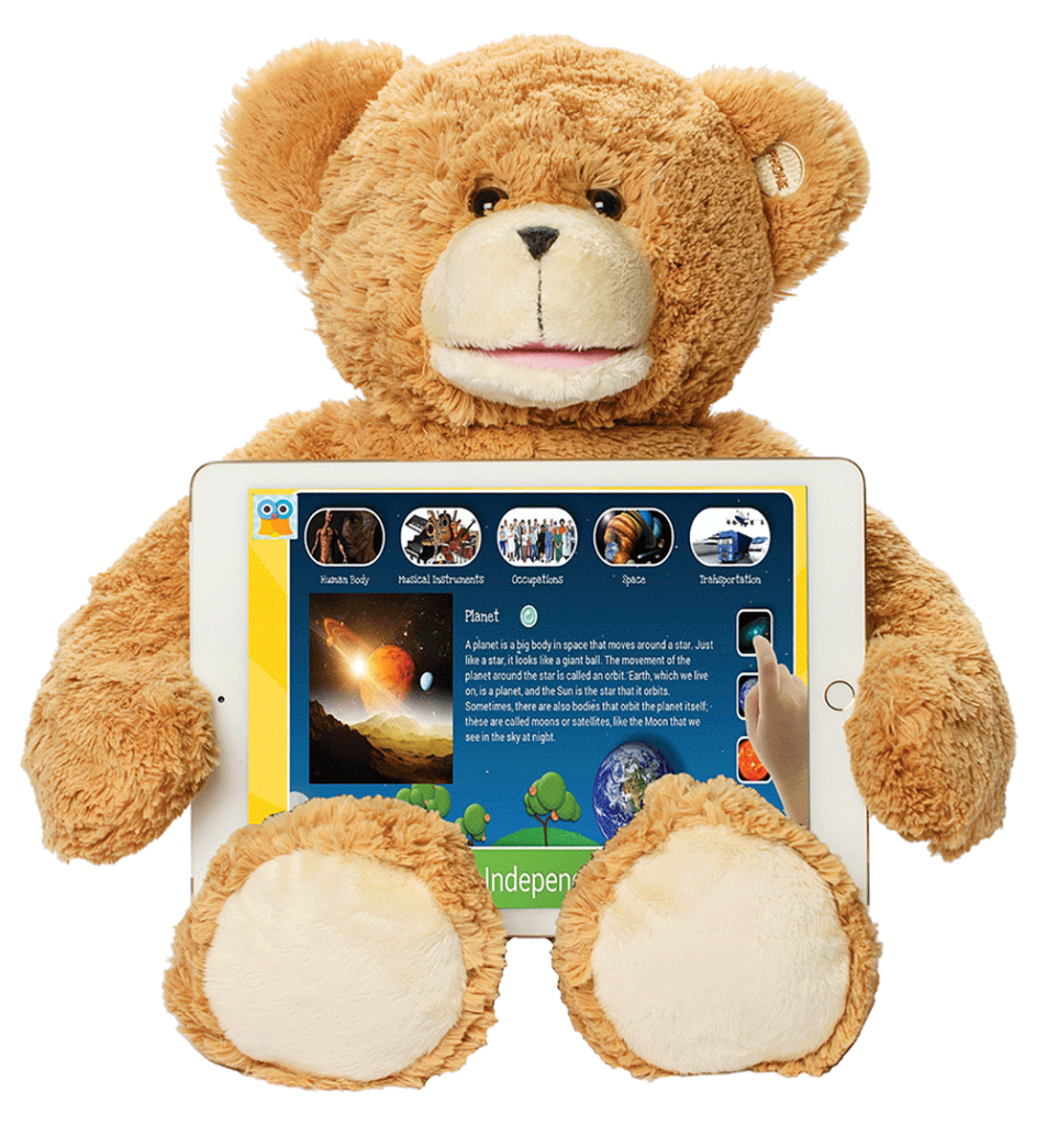Sammy The Bear with Tablet