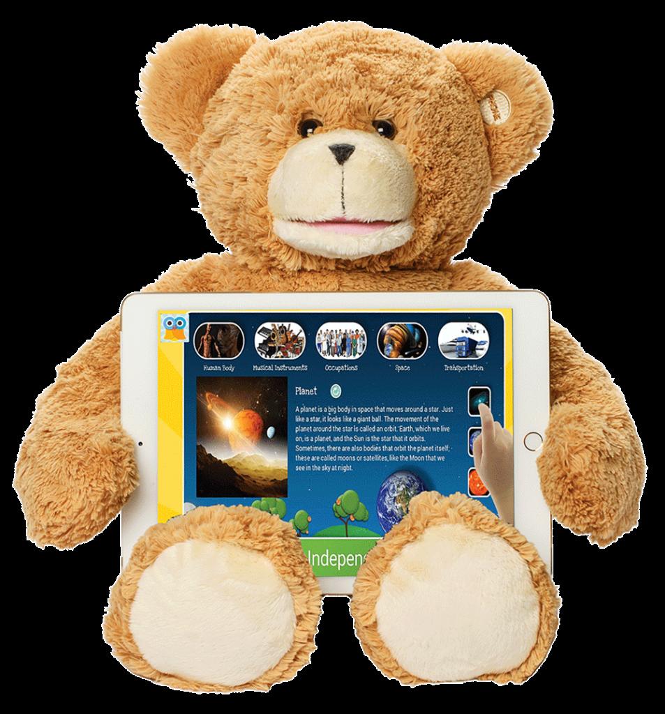 Sammy The Bear with Tablet