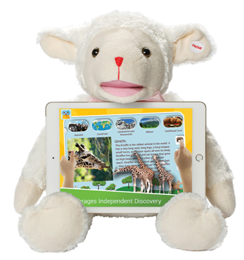 Lily the Lamb - Talking Educational Learning Tool