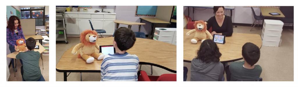 QSAC pics in classroom